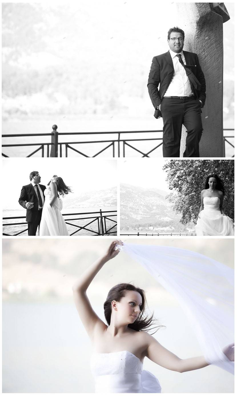 wedding shooting Ioannina - Pamvotis