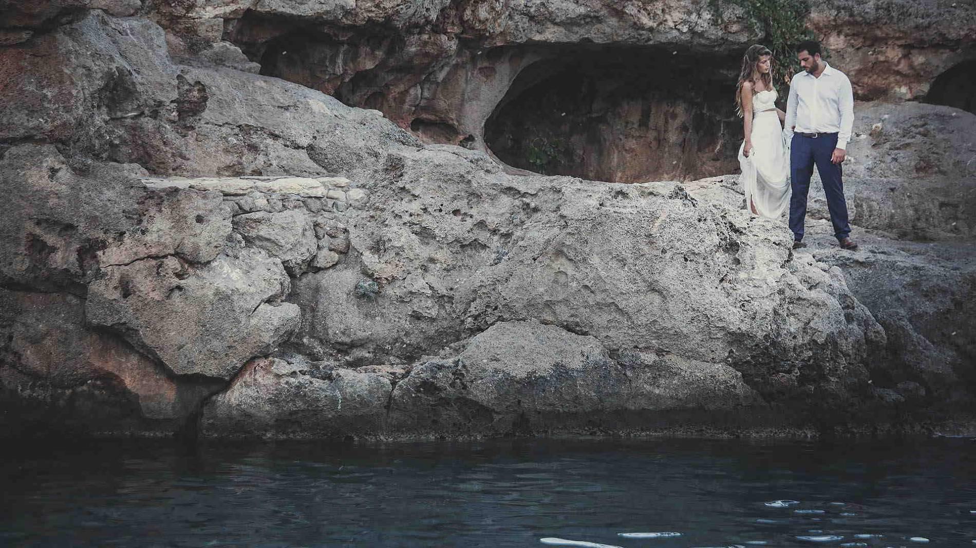 ονειρεμένος γάμος στα Κύθηρα