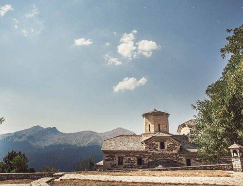 christening in central Greece, Pertouli mountain (video)