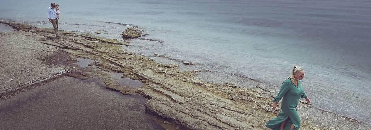γάμος και βάπτιση στην παραλία του sea soul