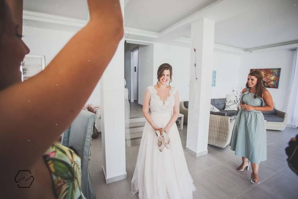 νύφη και παράνυφες
