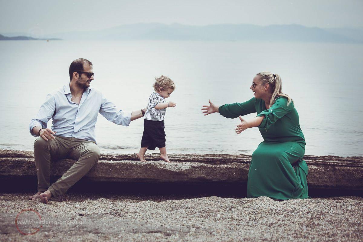 γάμος και βάφτιση μαζί