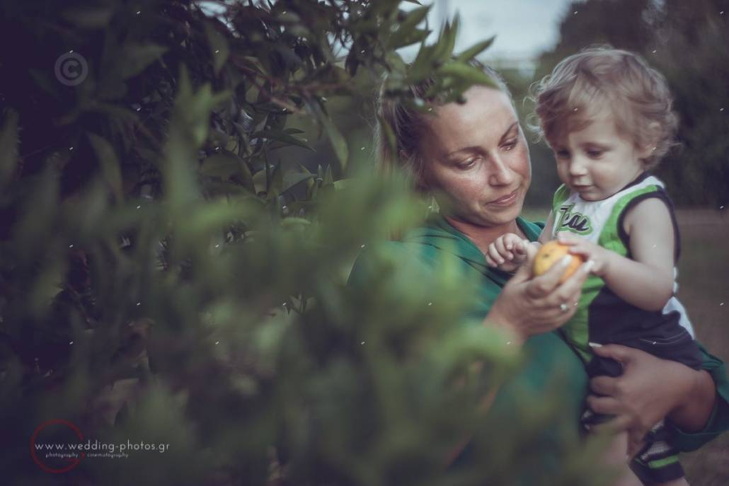 μαμά και γιος