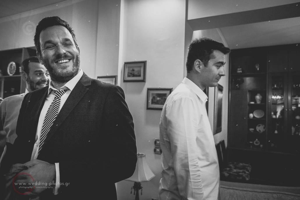 προετοιμασία γαμπρού, groom preparation