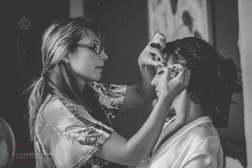 βρείτε την σωστή makeup artist για το γάμο