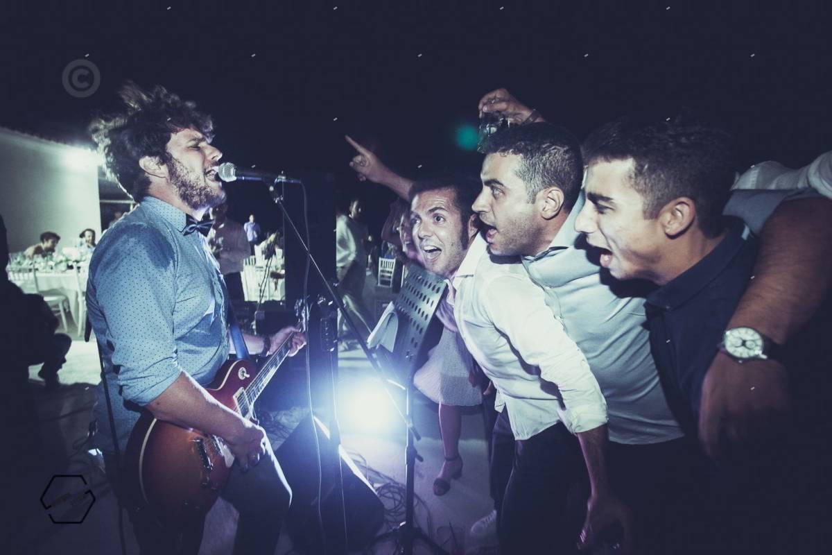 live σε γάμο rock band