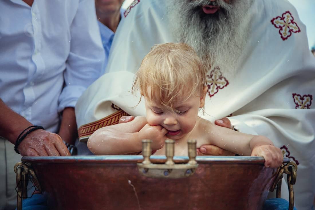 μονή νικάνορος βάφτιση