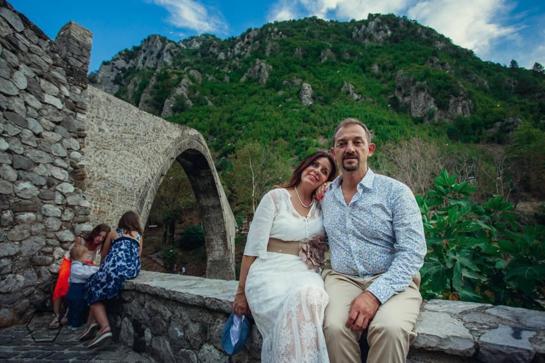 γέφυρα κόνιτσας, φωτογράφιση βάφτισης