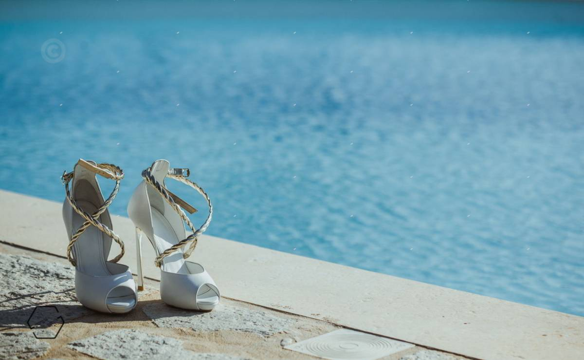 νυφικά παπούτσια dolce gabbana