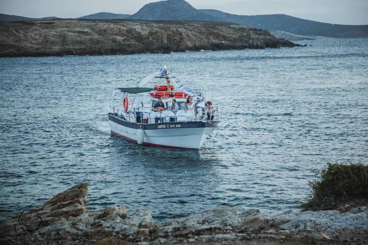η νύφη έρχεται από την θάλασσα