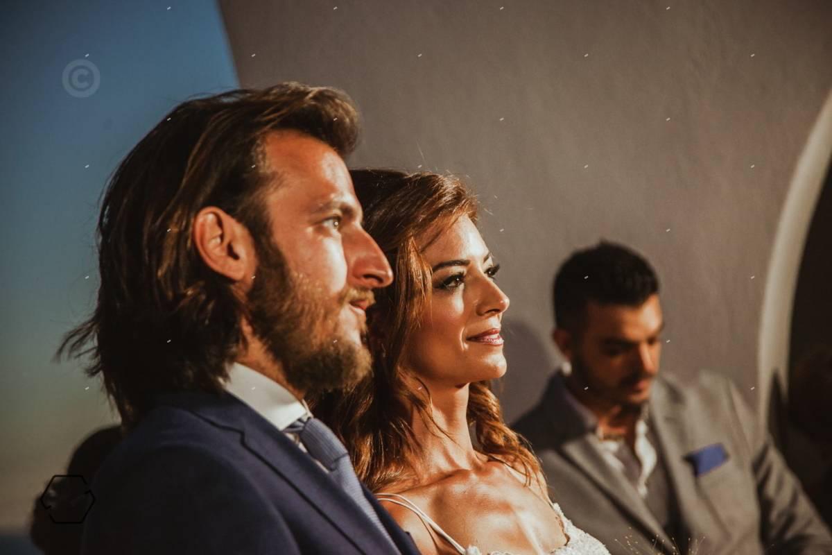 τελετή γάμου σε εξωτερικό χώρο