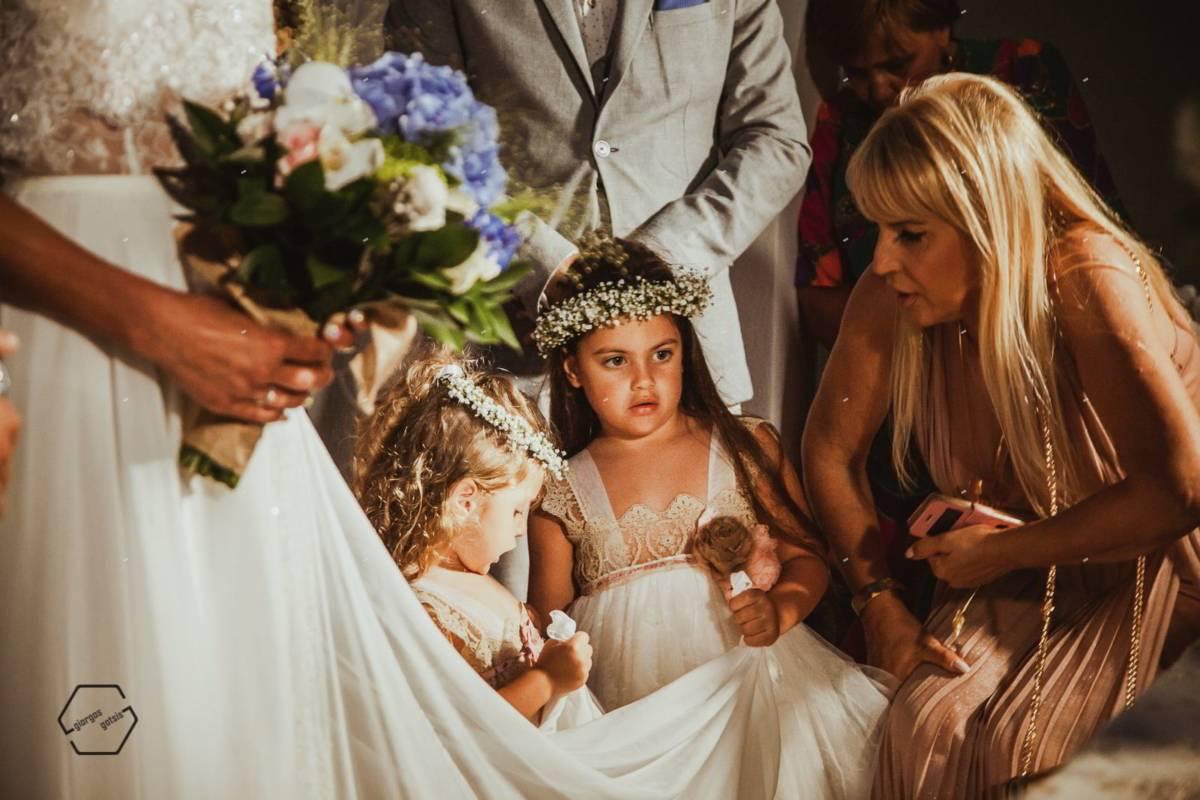 παρανυφάκια σε γάμο