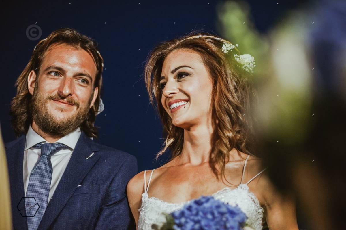 πορταίτο γαμπρού και νύφης