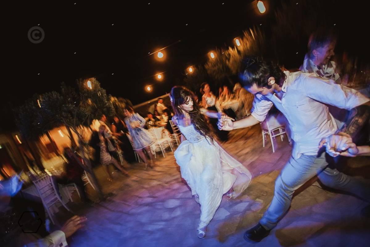 πάρτυ γάμου στην Πάρο