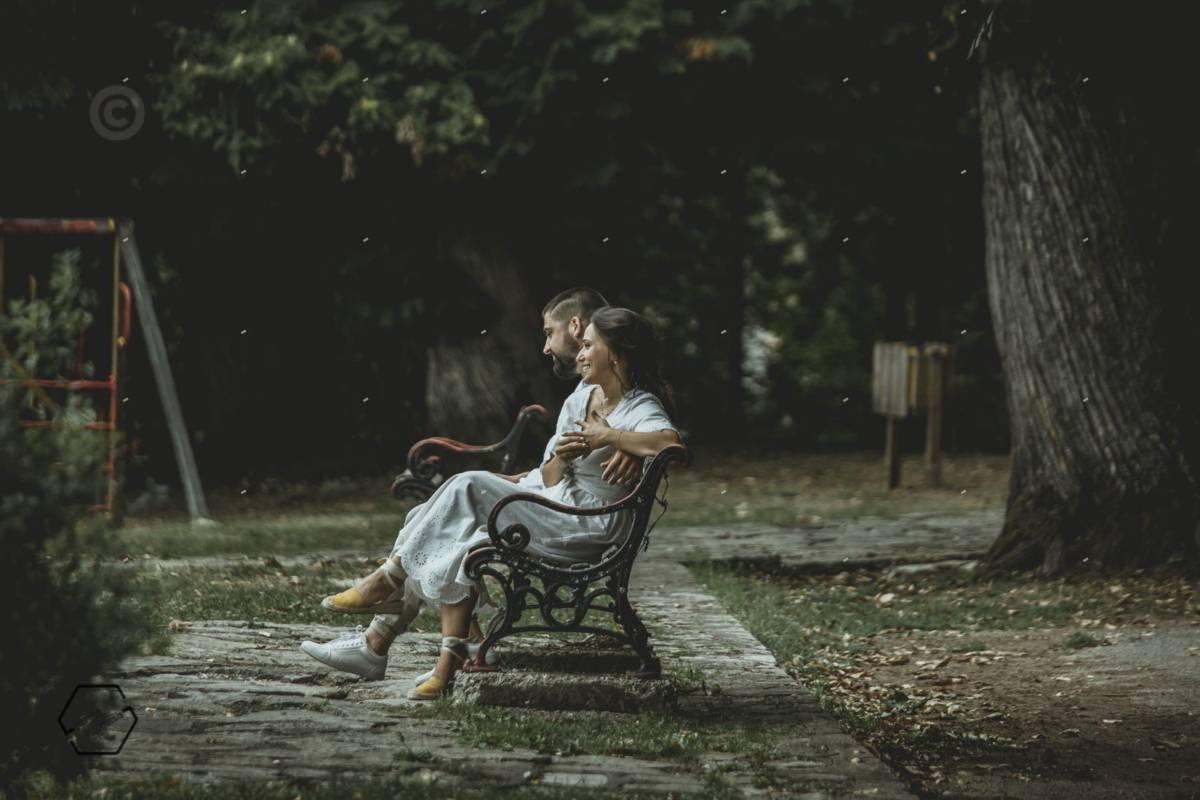 φωτογράφιση ζευγαριου στην Ελάτη