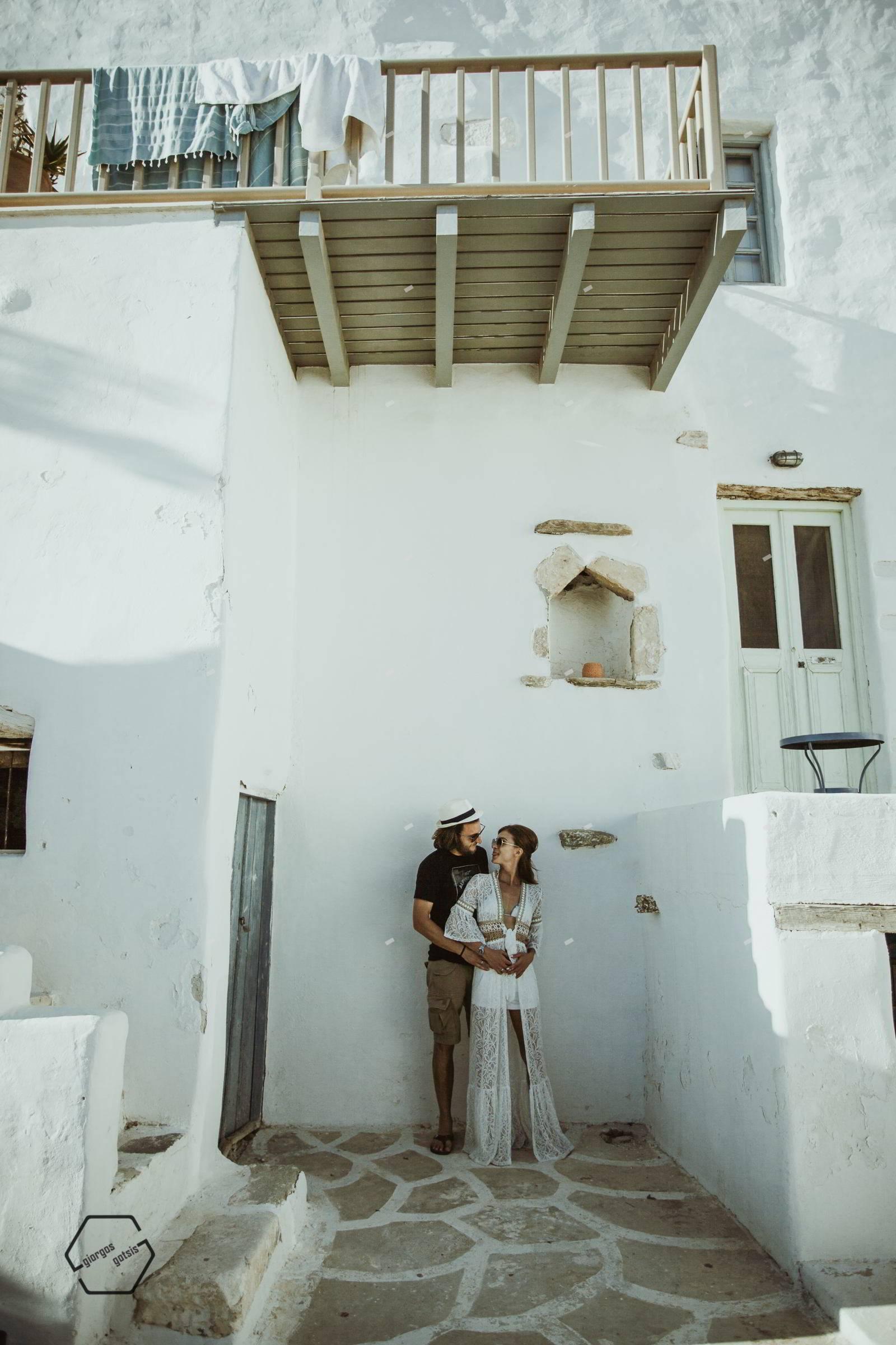 a wedding in antiparos island