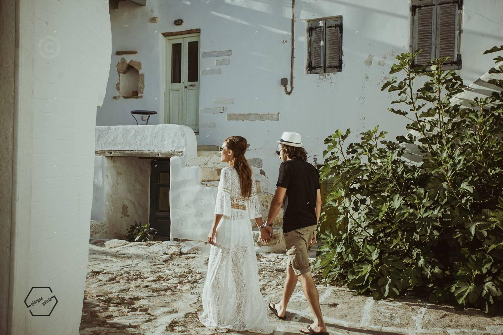 αντίπαρος φωτογράφιση πριν το γάμο