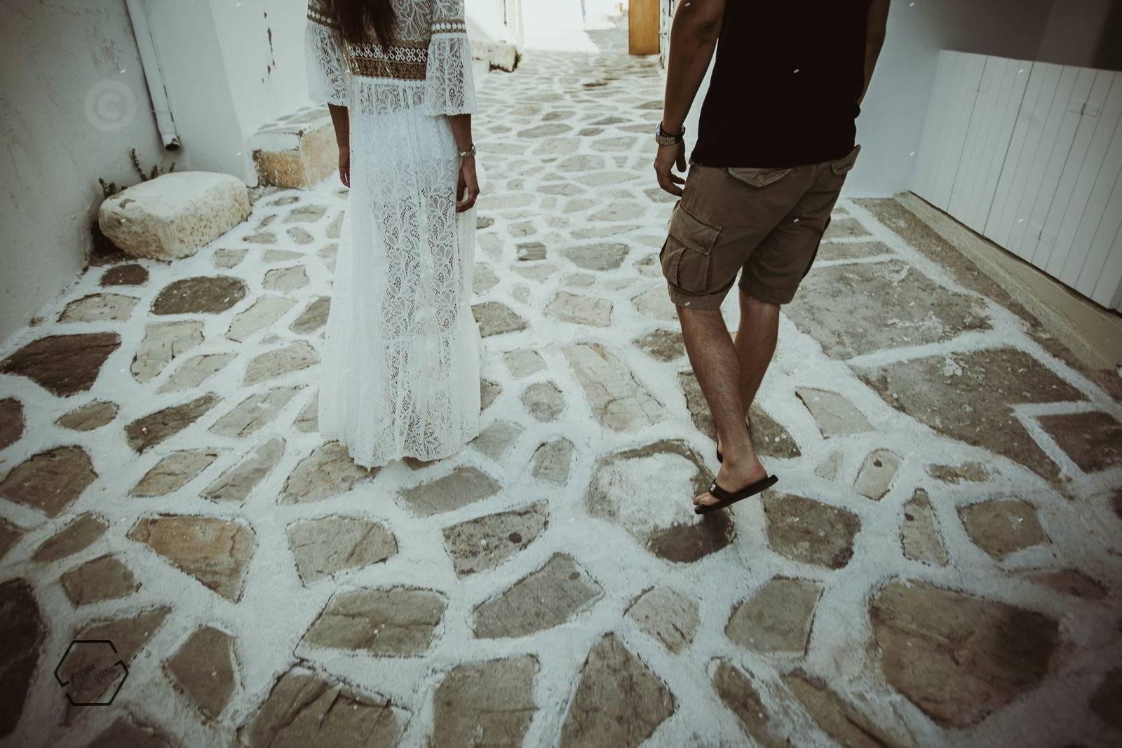 αντίπαρος, φωτογράφιση πριν το γάμο