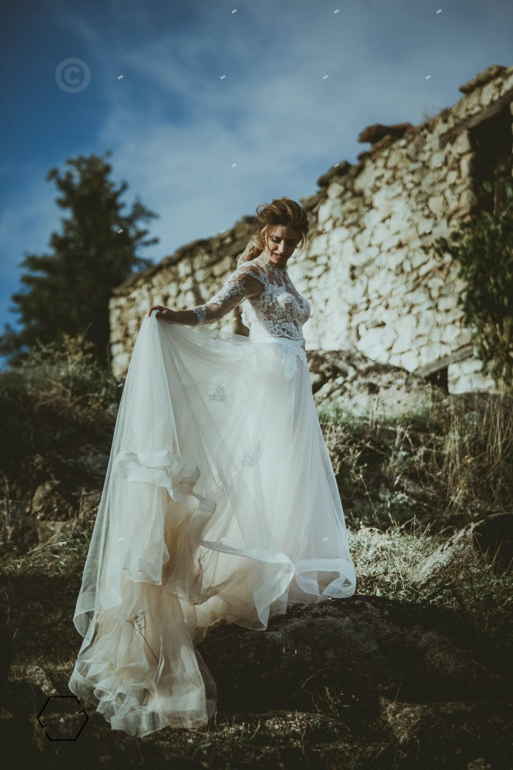 γαμήλιες φωτογράφιες, νύφη