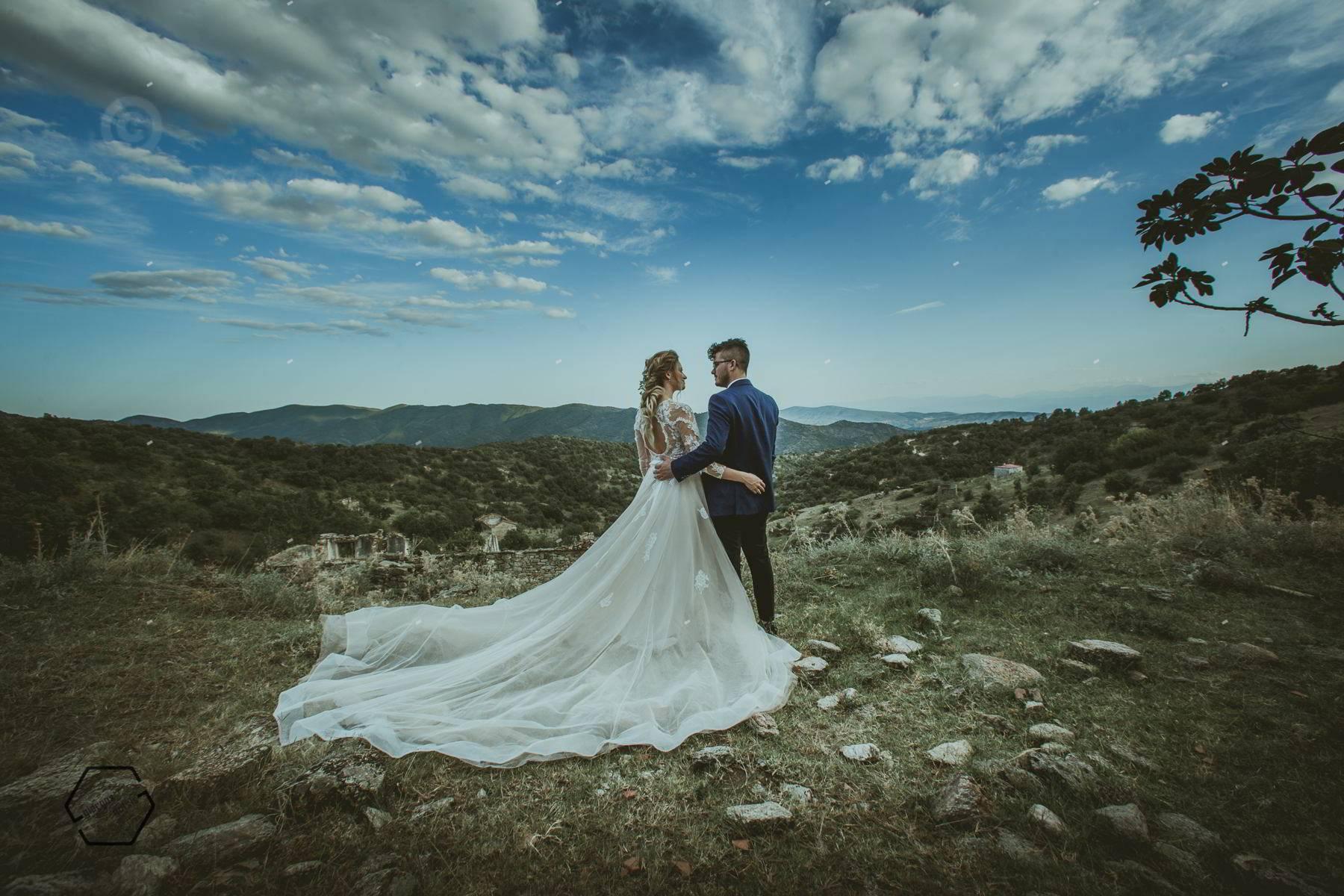 κουμαριά τρικάλων, φωτογράφιση γάμου