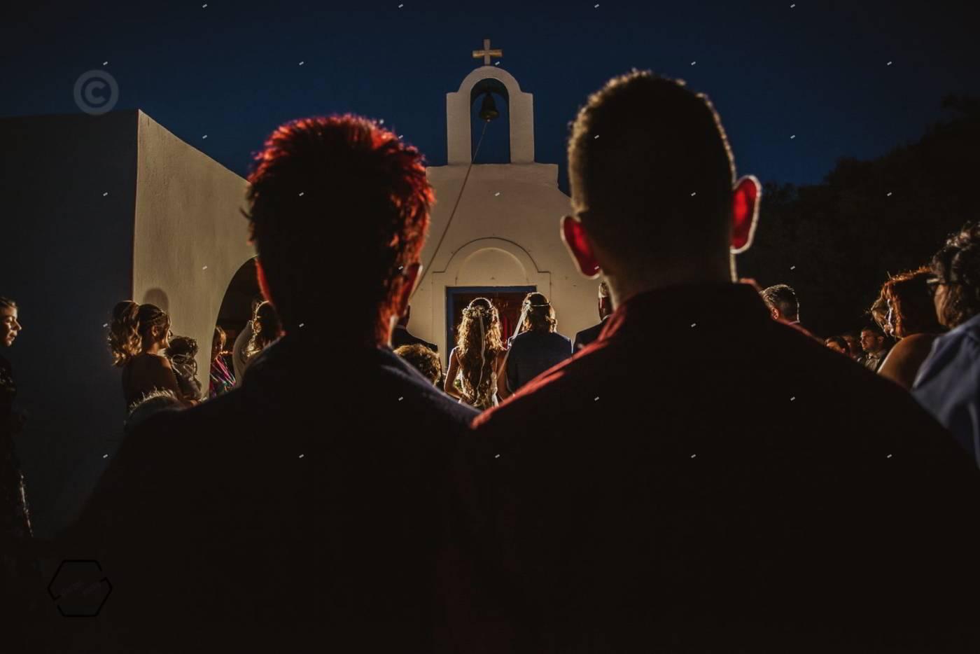 αγιος γεώργιος αντίπαρος γάμος - wedding in Paros video