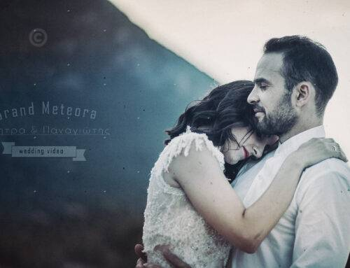 a romantic video teaser from the wedding at Grand Meteora