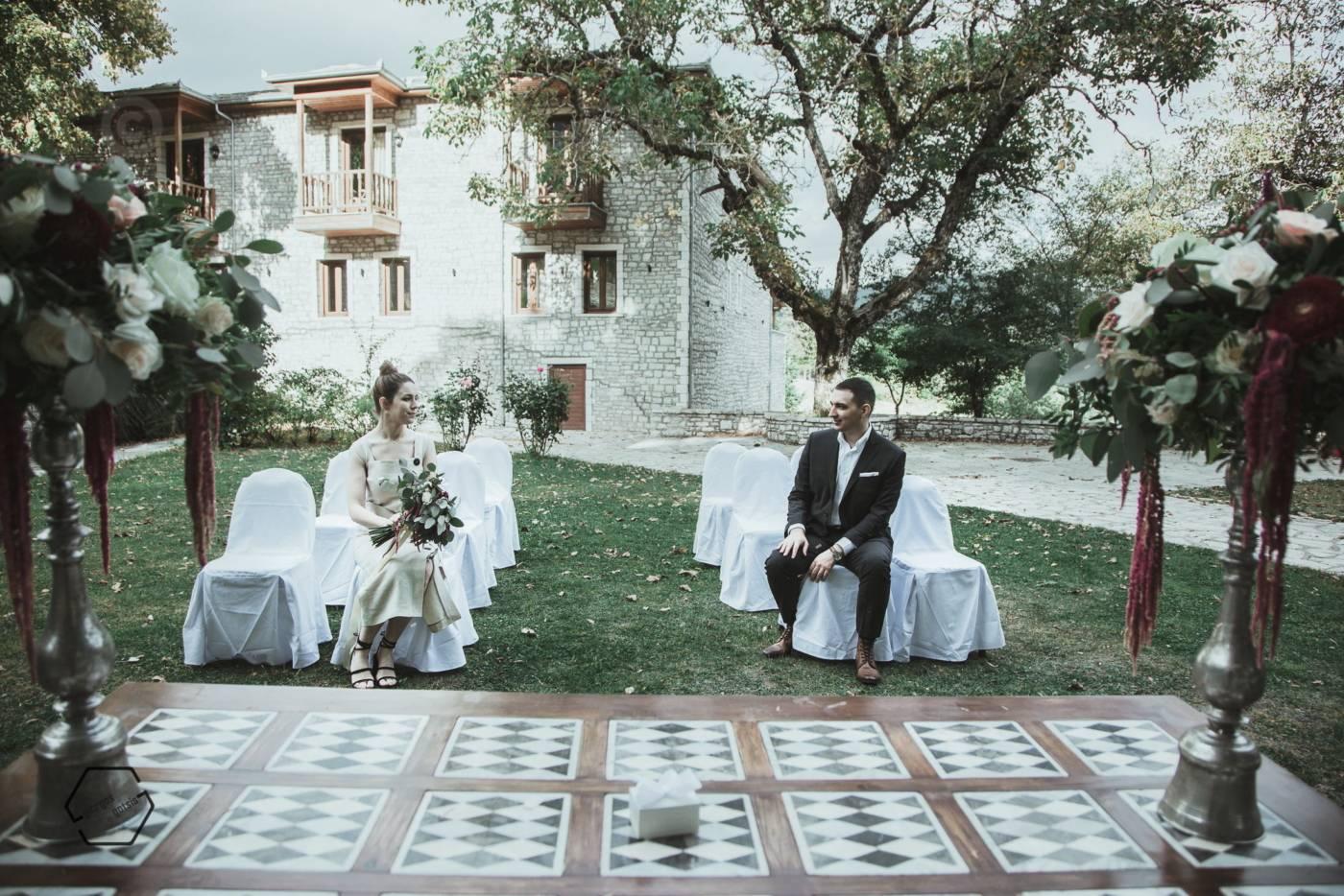 πολιτικός γάμος στο αρχοντικό χατζηγάκη