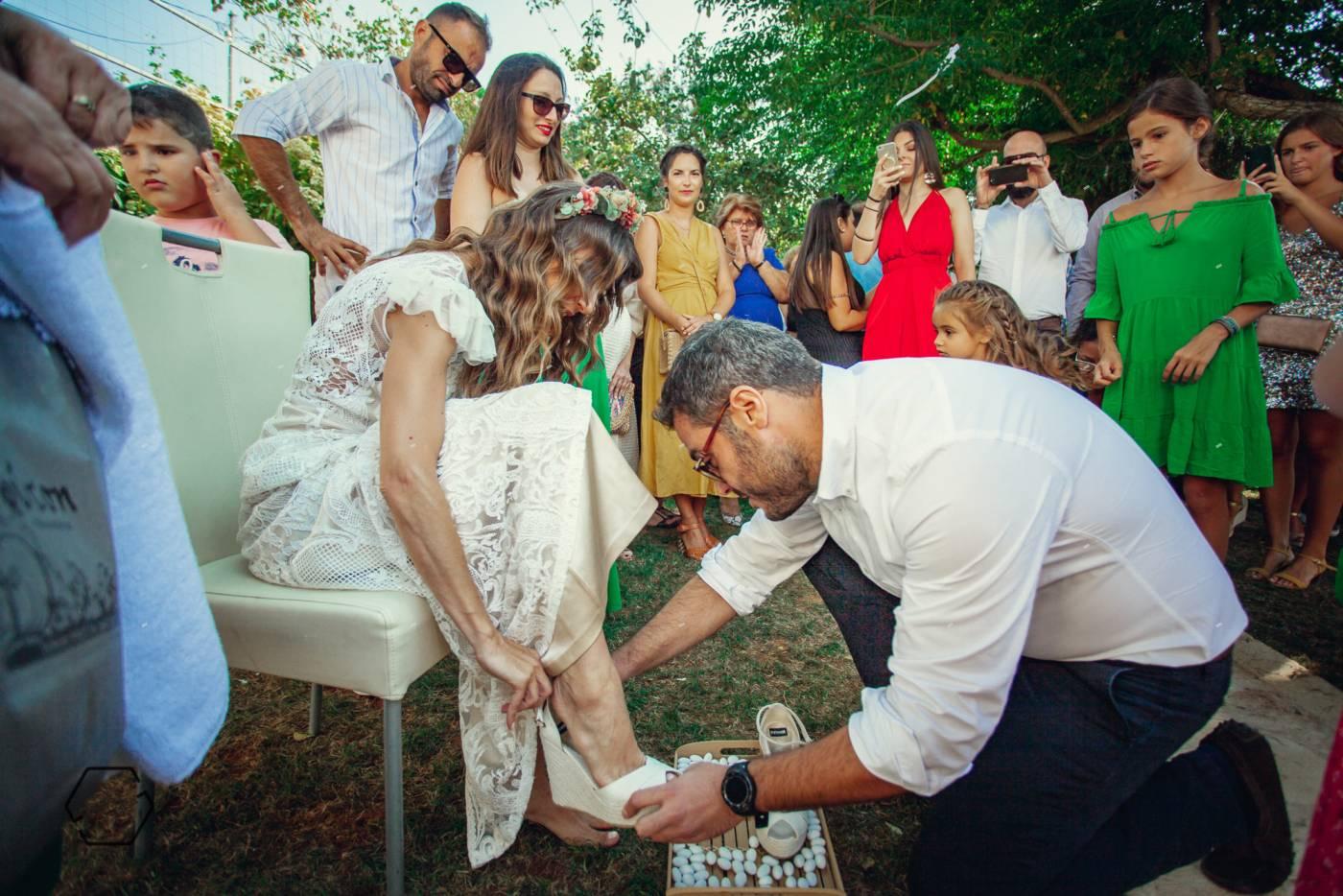 προετοιμασία νύφης πρέβεζα
