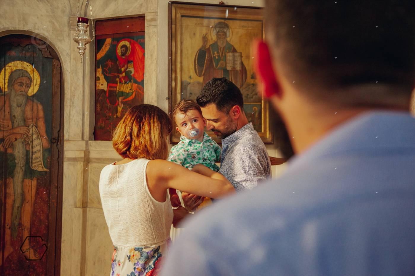 υπέροχη βάπτιση στην αμοργό