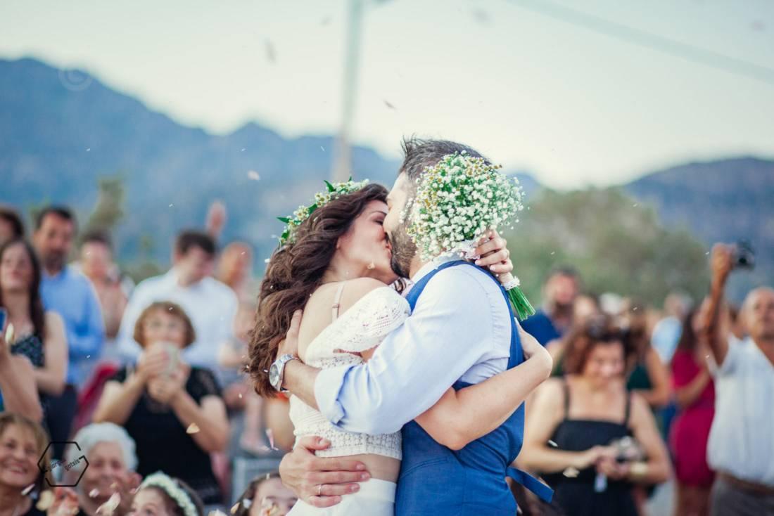 πολιτικός γάμος στη θάλασσα