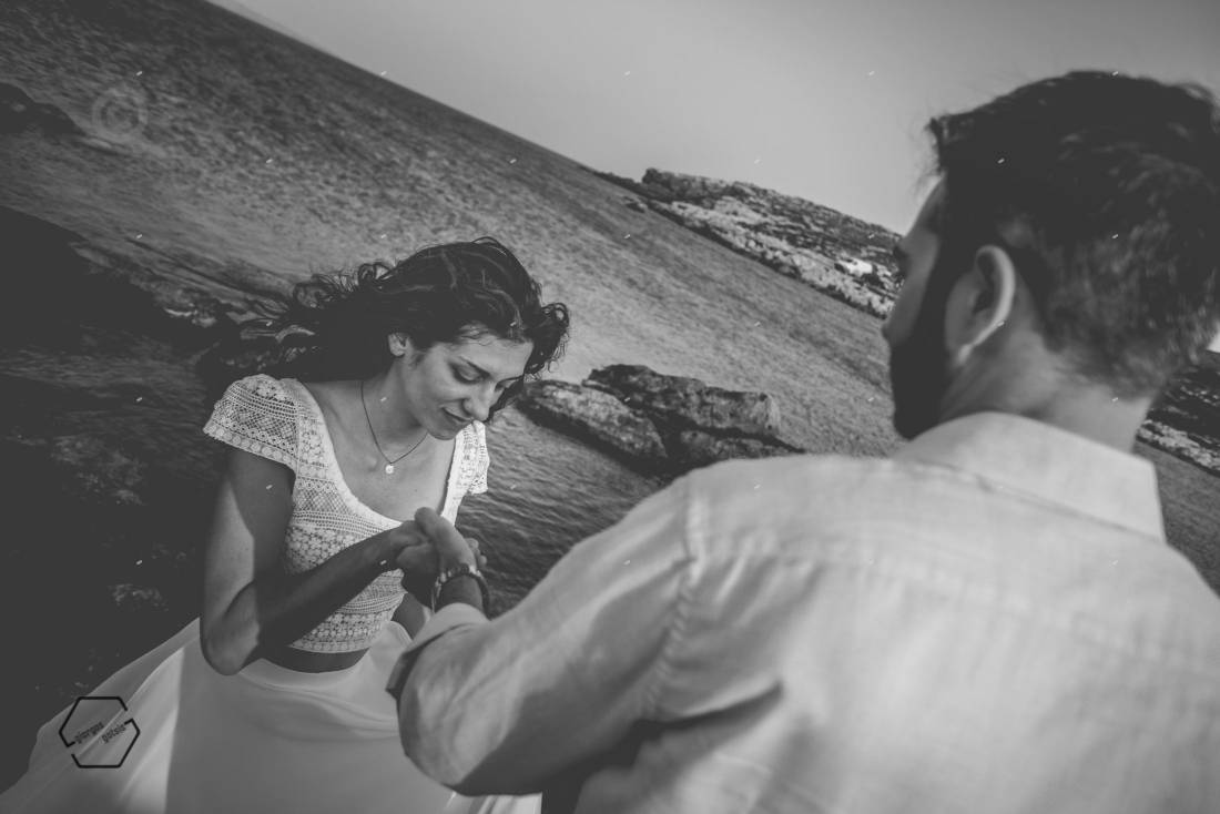 γάμος στην παραλία κρήτη