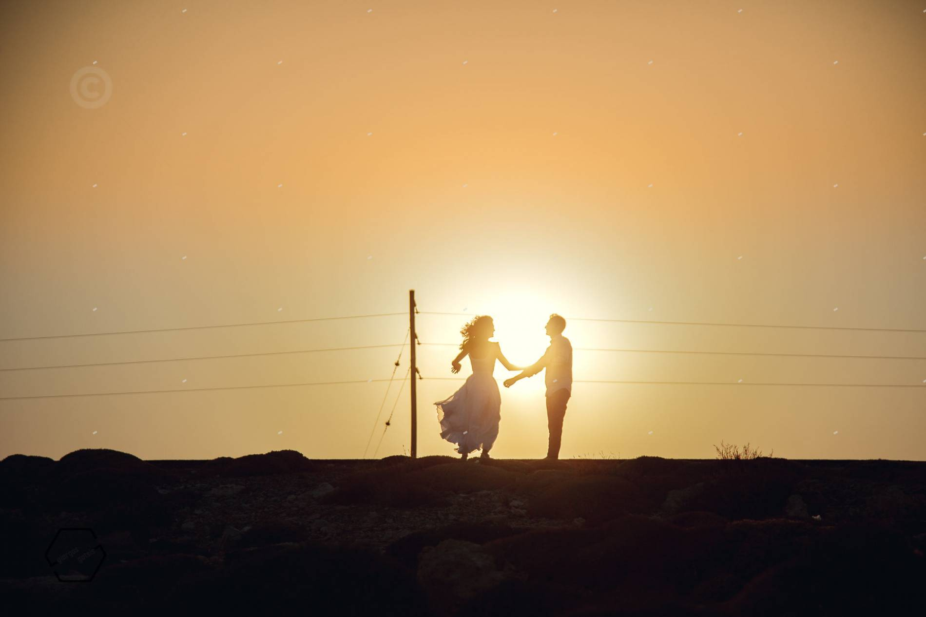 γάμος στην παραλία, ιεράπετρα κρήτη
