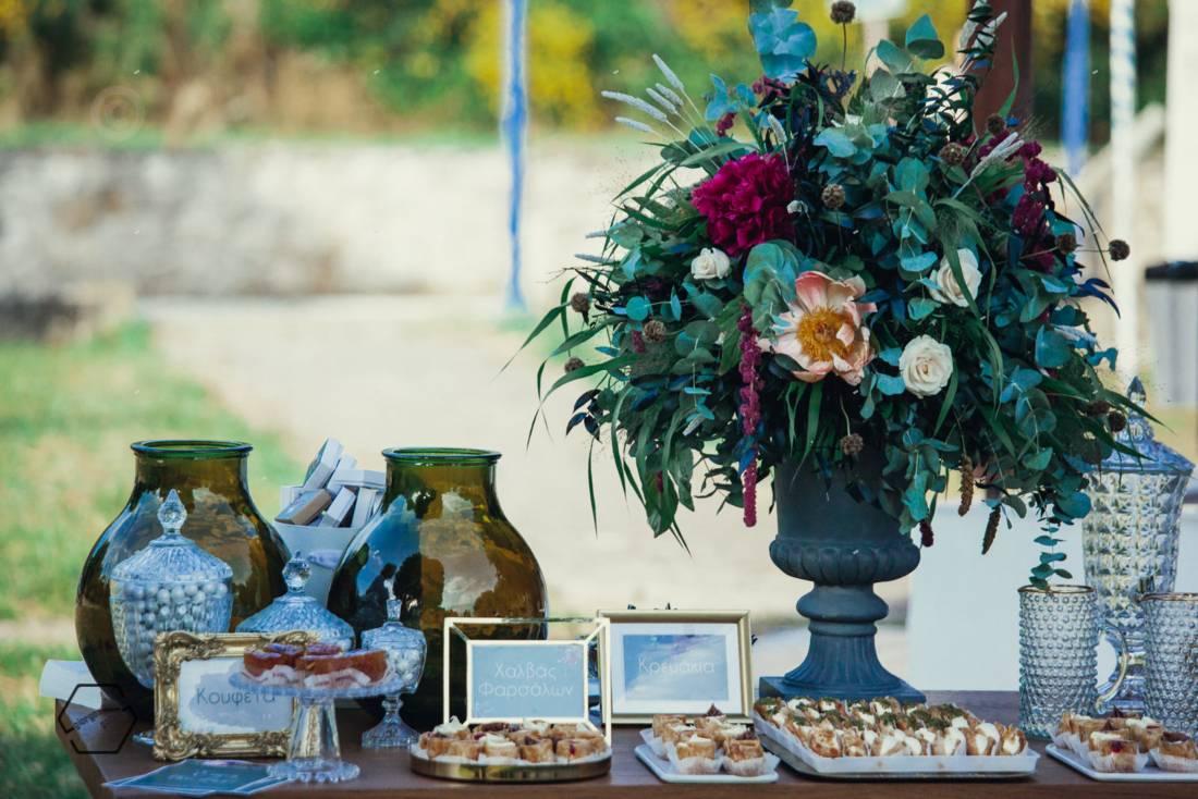 στολισμός γάμου Χαλκιδική