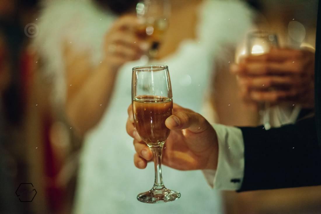 σαμπάνια γάμου