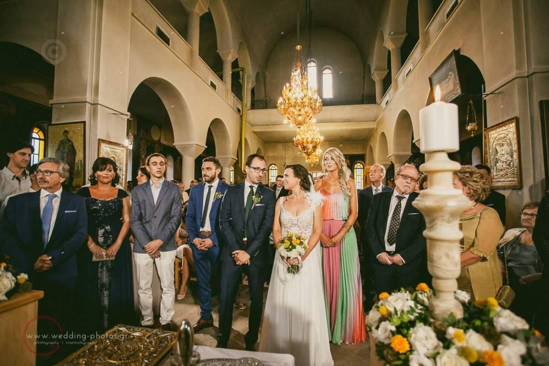 φωτογράφιση τελετής γάμου