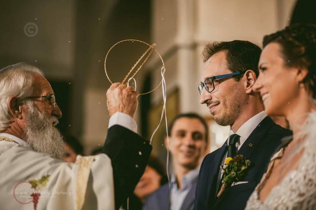 ανταλλαγή στεφάνων γάμος