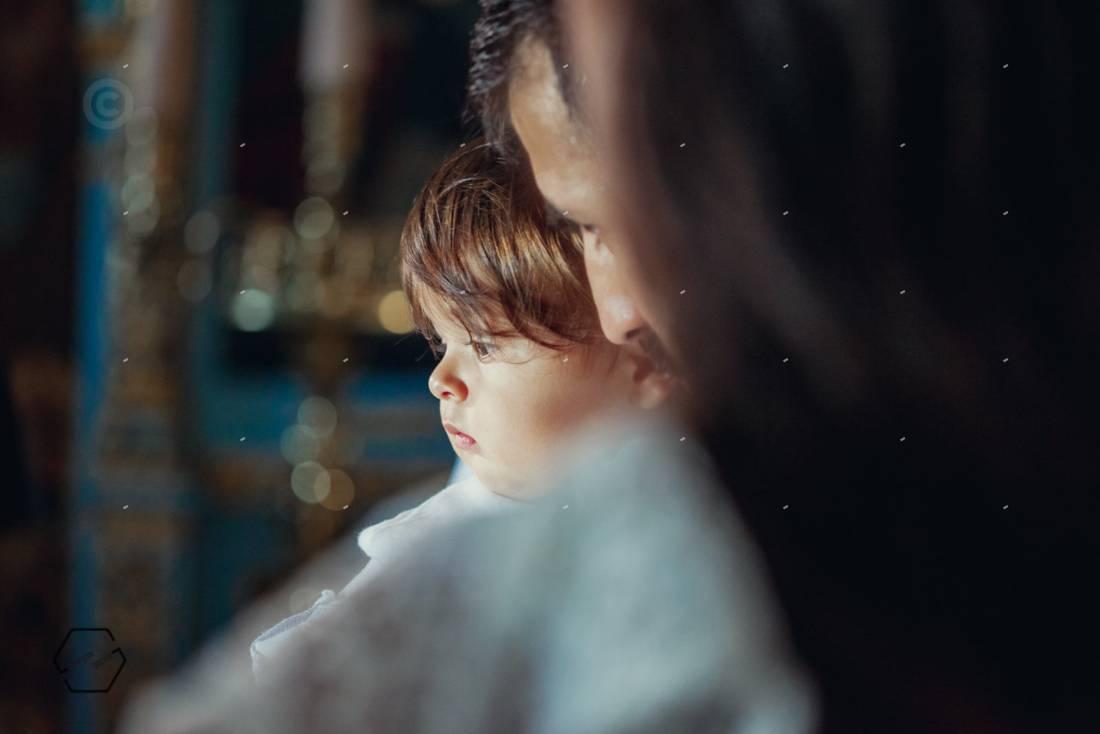 καλλιτεχνική φωτογράφιση βάπτισης