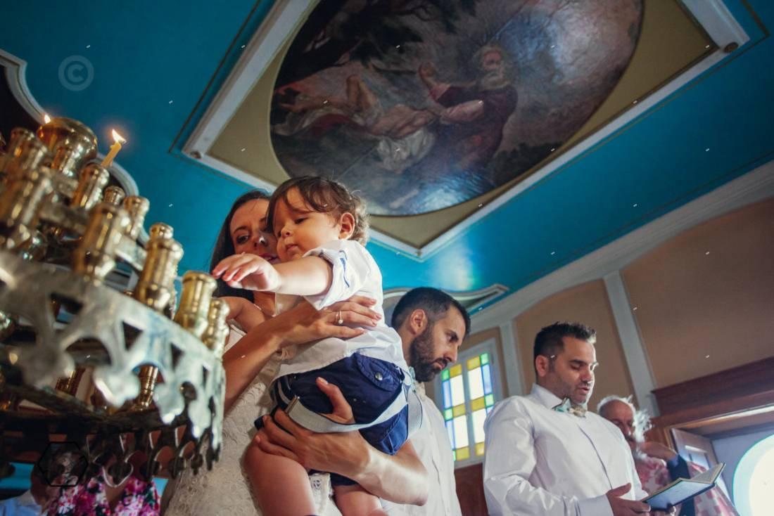 βάφτιση στον αγ. νικήτα λευκάδα