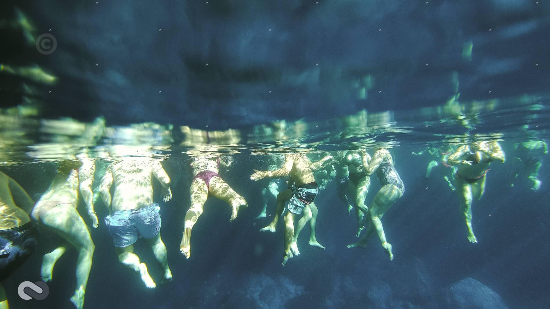 υποβρύχια λήψη στη χύτρα