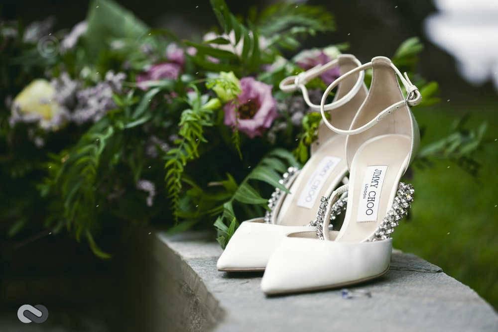νυφικά παπούτσια jimmy choo