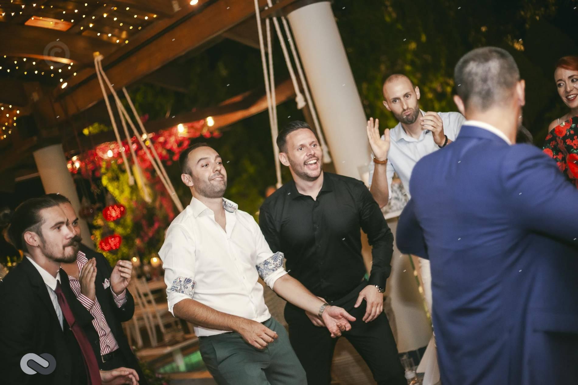 πάρτι γάμου σε βίλα