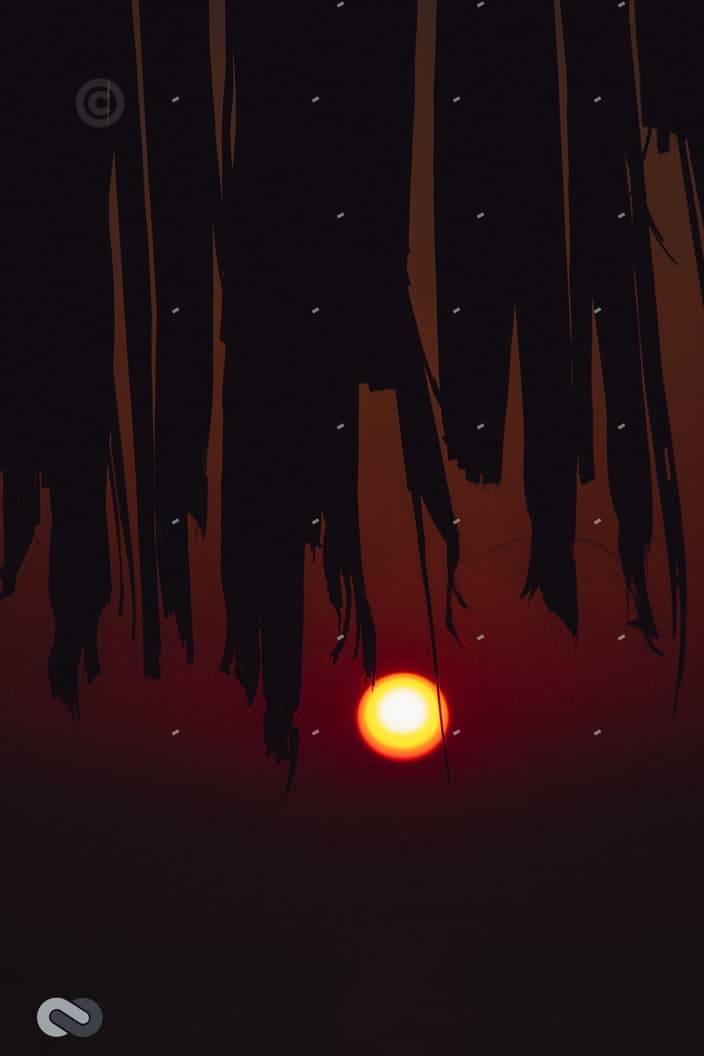 δύση ηλίου