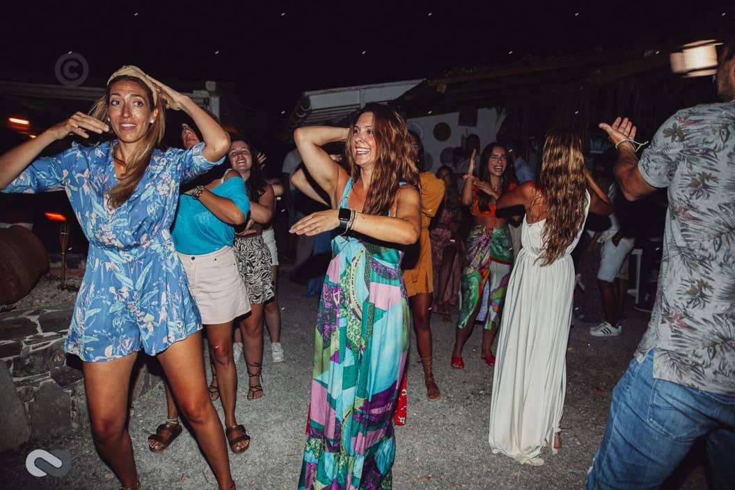 πάρτι πριν τον γάμο beach bar