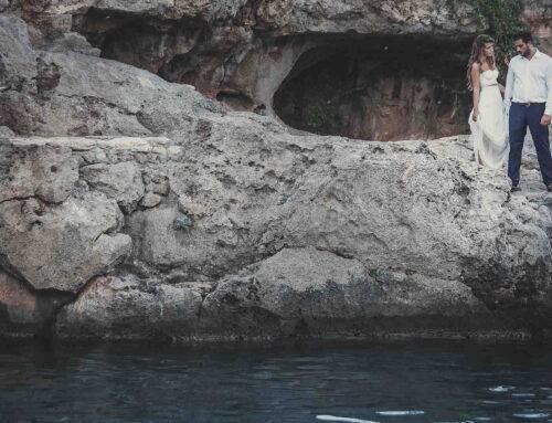 an amazing wedding in Kythera island, Greece