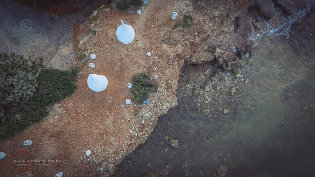 wedding aerial photos