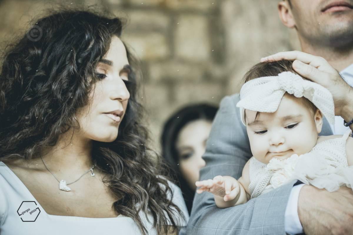 φωτογράφηση βάφτισης