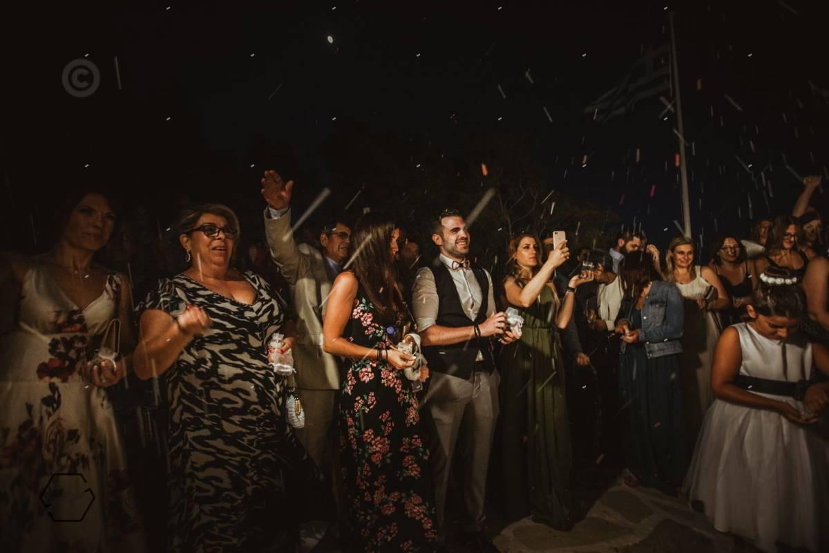 Traditional wedding in Greek islands