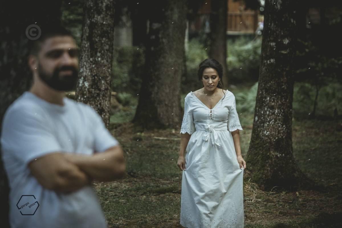 ζευγάρι στο δάσος