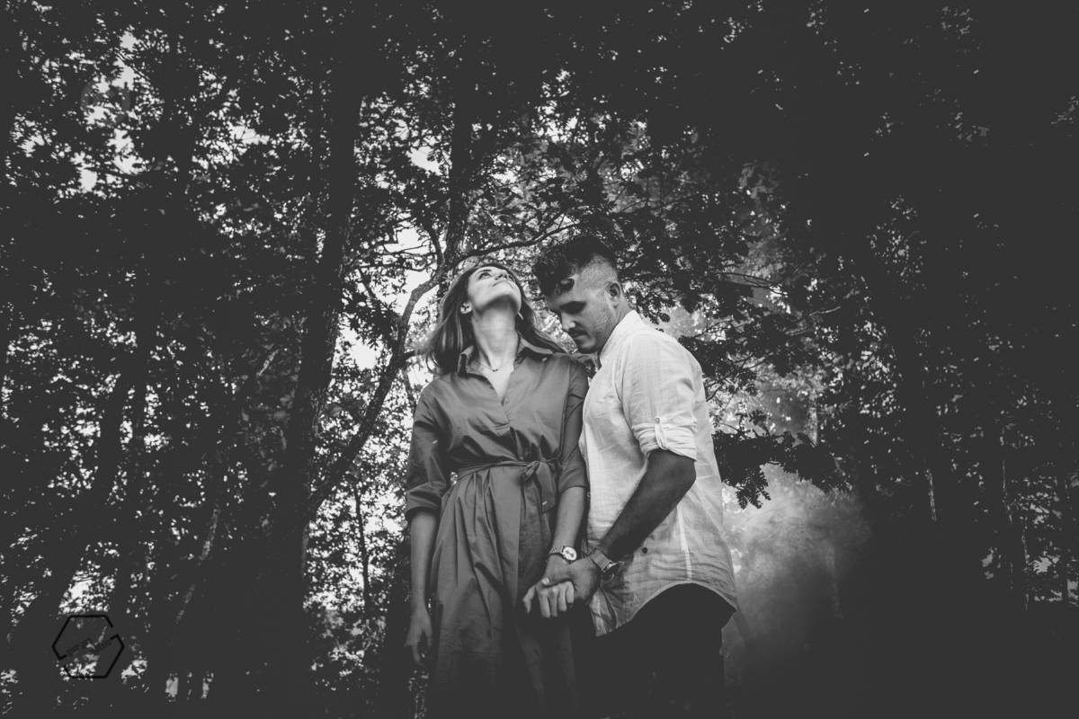 φωτογράφιση ζευγαριού πριν το γάμο