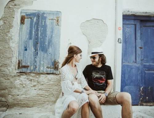 a beautiful pre-wedding in Antiparos island